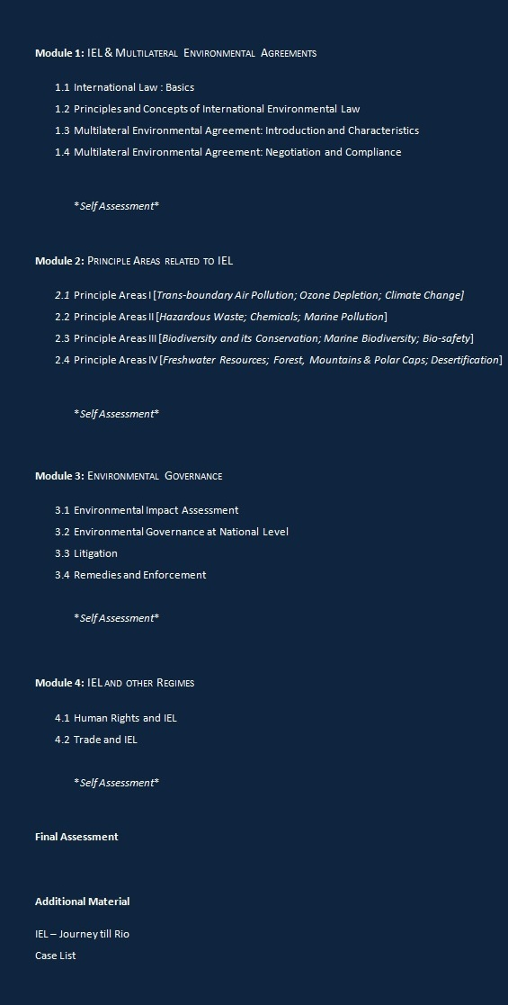 the evolution of international environmental law iel essay International economic legal system  the main actors involved in the  development of international environmental law who  executive summary -  pilot session  (iel) by identifying its sources and fundamental principles, the  law-making.